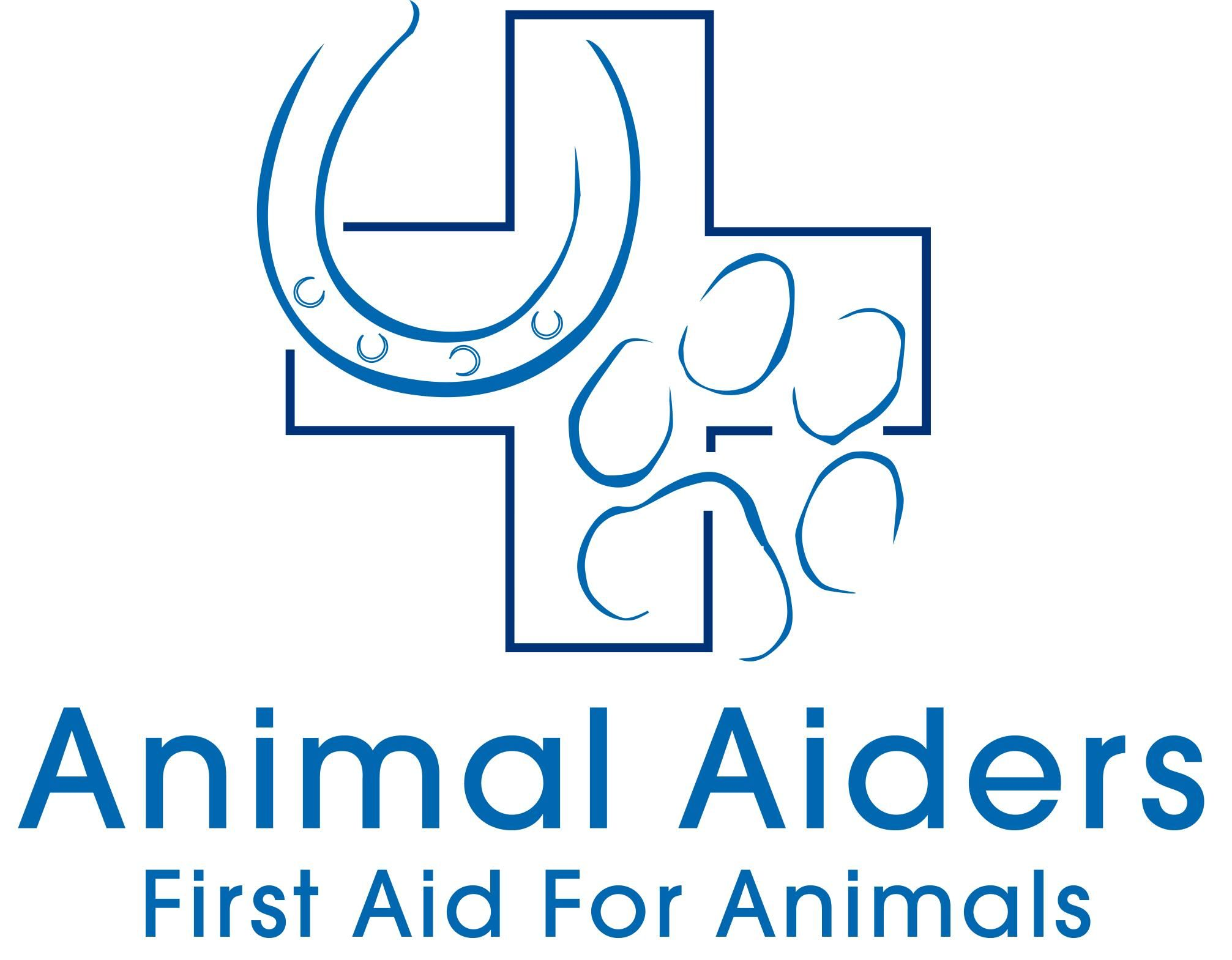 animal aiders logo, links to the homepage
